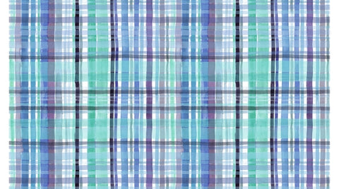 No Place Like Om - Tartan Wash (Multi) - Stella-DJL1705 (1/2 Yard)
