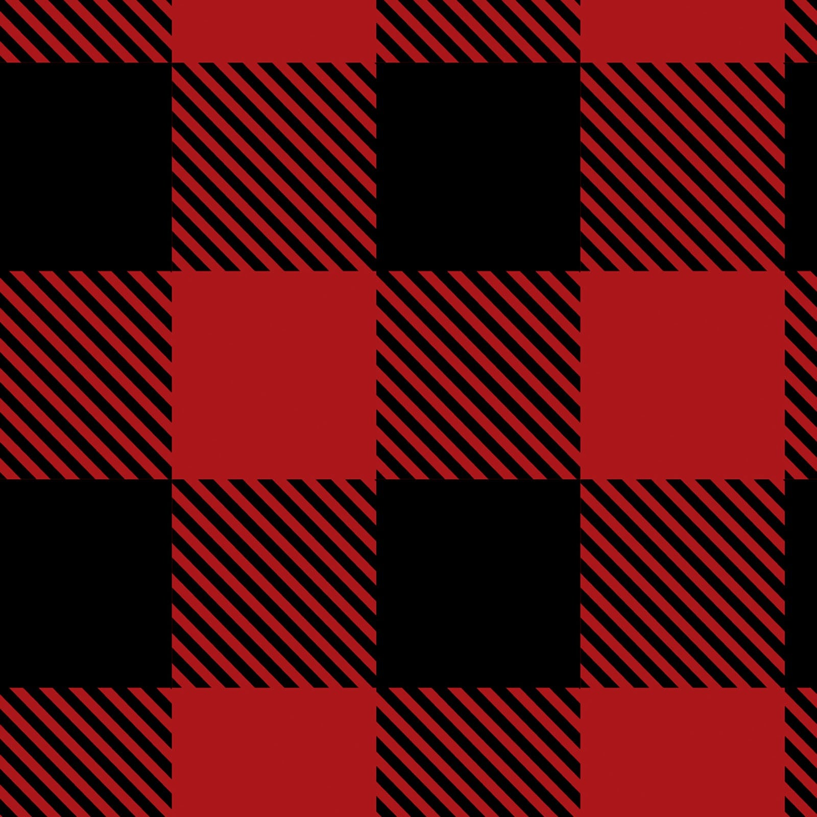 Fleece - Buffalo Plaid - CAM8331V-1