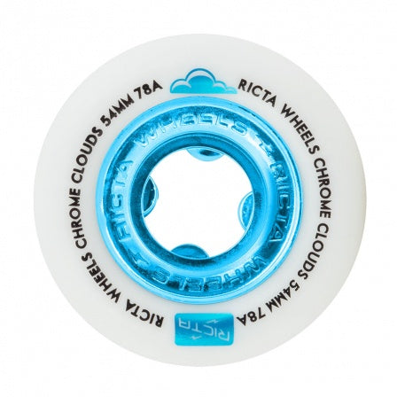 Ricta Chrome Clouds Blue 54mm 78a
