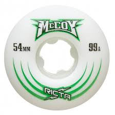 Bones WHEELSPatterns /• STF 99A /• 53mm /• Standard White WSCAEST015399W4 Model