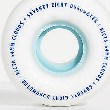 Ricta Clouds 78a Blue 54mm