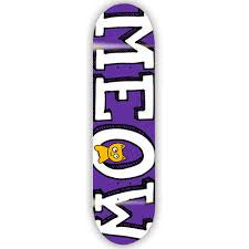 Meow Logo Mini Purple - 7.25