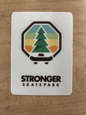 Stronger 2in Logo Sticker Sheet