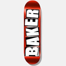 Baker Team Logo Red Foil - 8.0