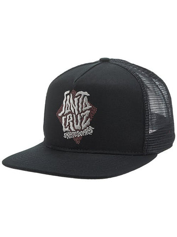 Passage Mesh Santa Cruz trucker black