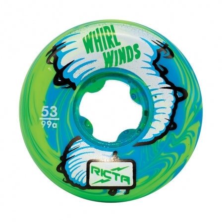 Ricta Whirlwinds Blue/Green 53mm