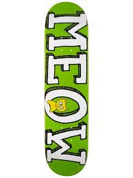 Meow Logo Mini Green - 7.5