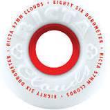 Ricta Chrome Clouds Red 86a 54mm