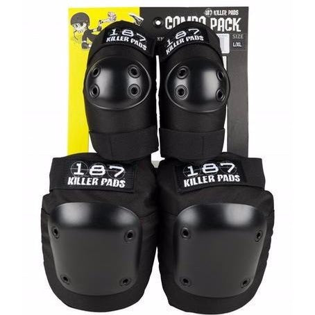 187 Killer Pads Combo Pack Black