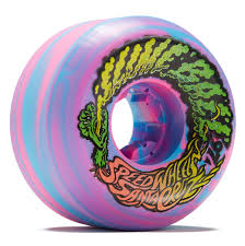 Slime Ball Vomit Mini Blue/Pink Swirl 56mm