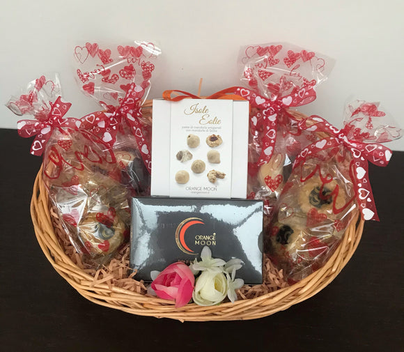 Hamper Isole Eolie & Dark Orange Moon