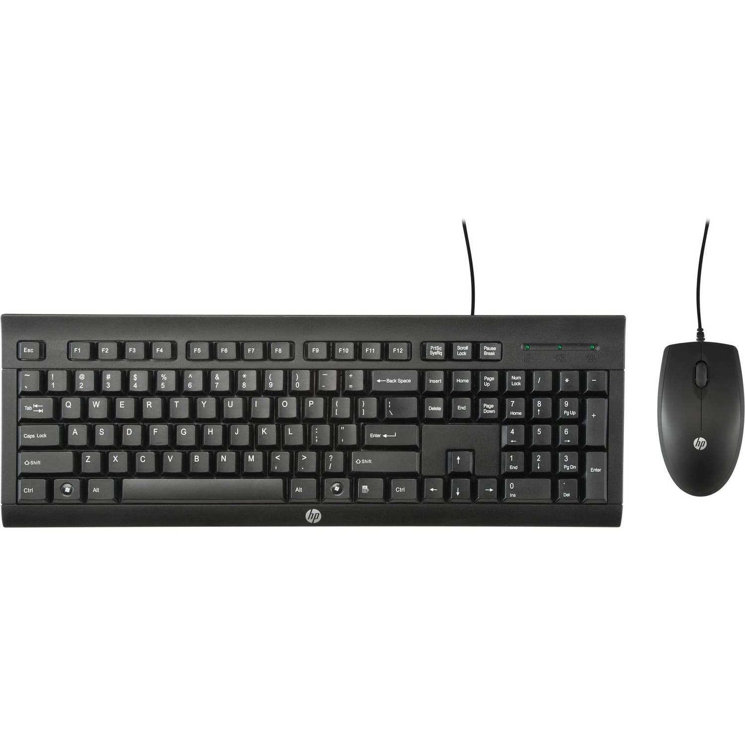 Keyboard and Mouse HP Wired C2500