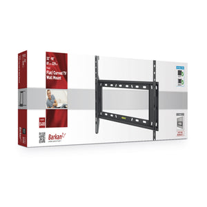 Barkan fixed wall mount for screens up to 90 inches
