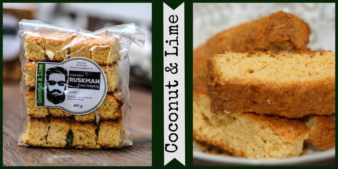 The Rusk Man - Coconut and Lime Rusk