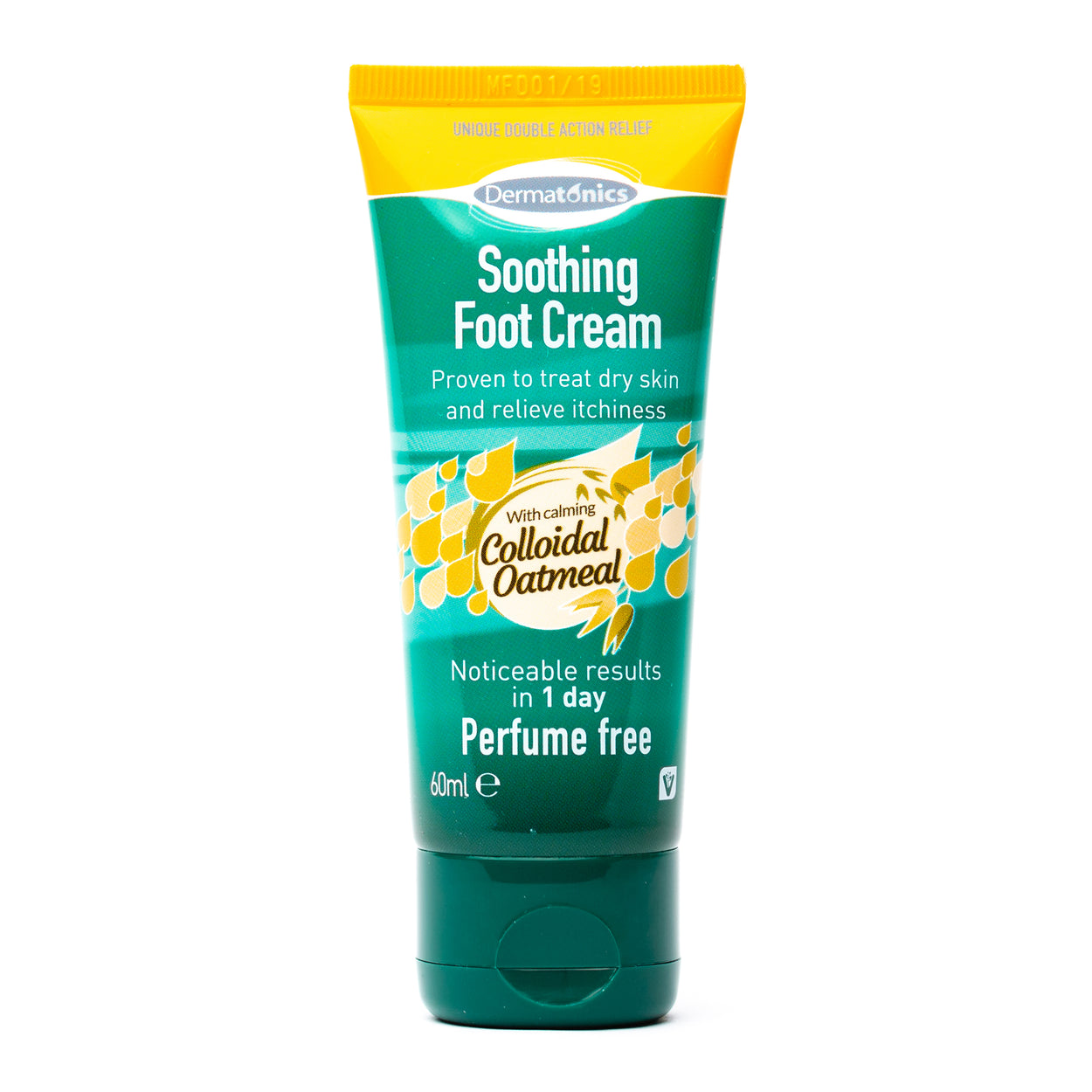 Dermatonics Soothing Foot Cream with Colloidal Oatmeal
