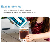 Collapsible Ice Mold Silicone Tray