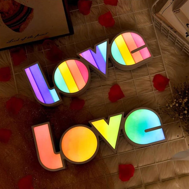 LOVE LED Night Light