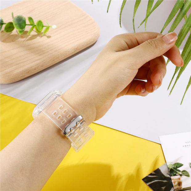 Glacier Transparent Apple Watch Band