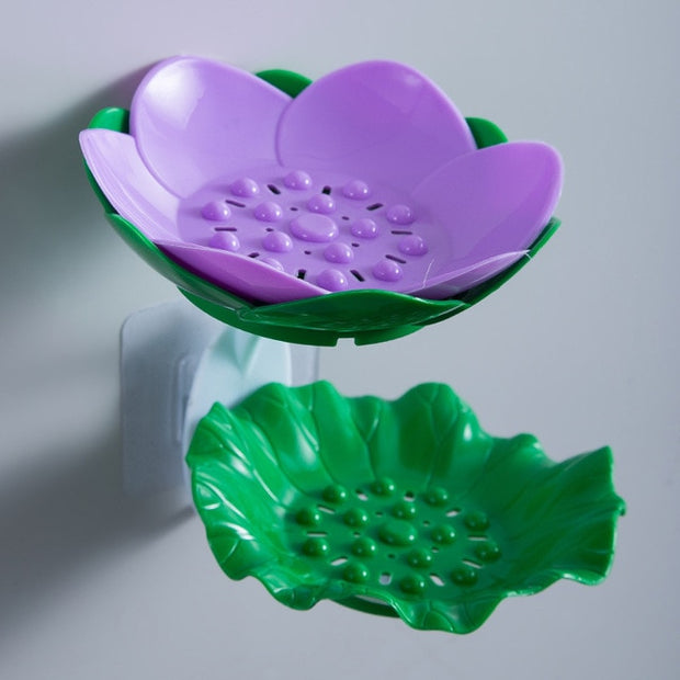 Lotus Flower Soap Holder and Drain