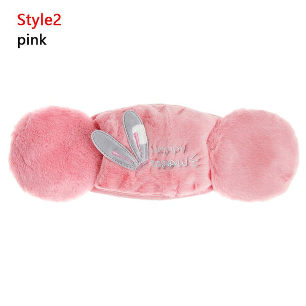 2 in 1 Cute Mask Earmuffs
