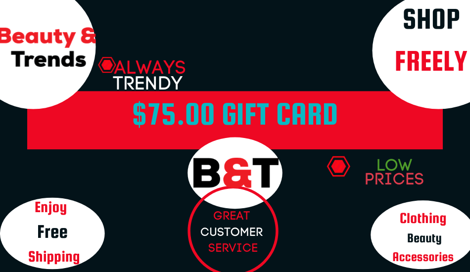 Beauty and Trends Gift Card - Beauty and Trends