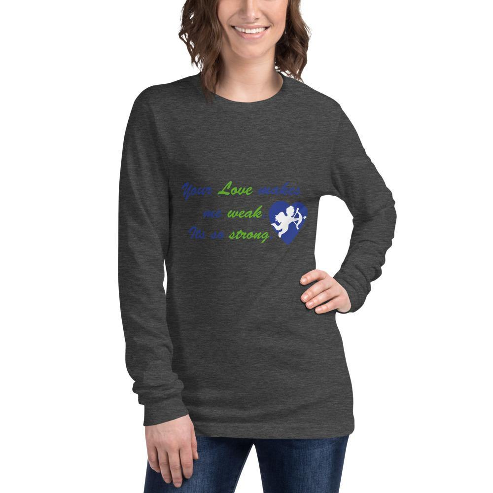 For My Valentine Long Sleeve Tee by B&T - Beauty and Trends