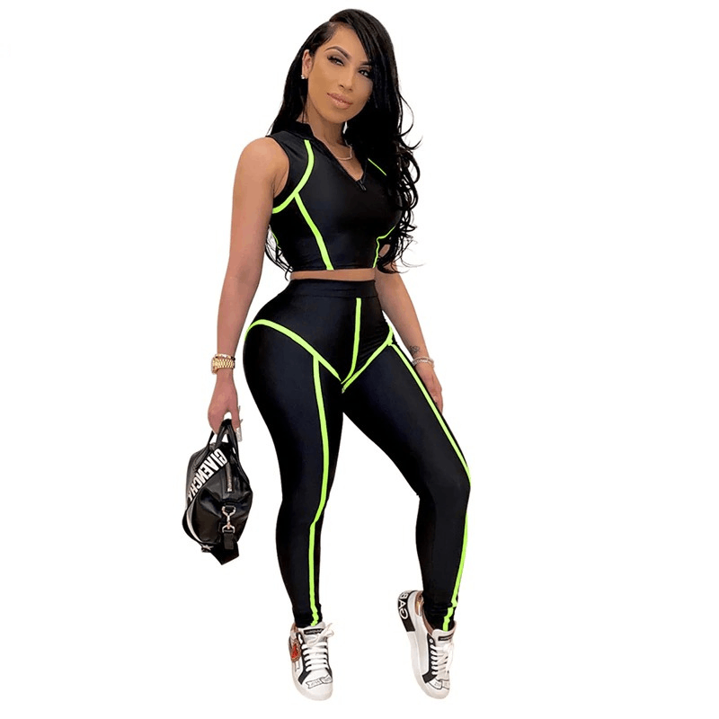 Glamour Girl Fitness Suit | Beauty and Trends