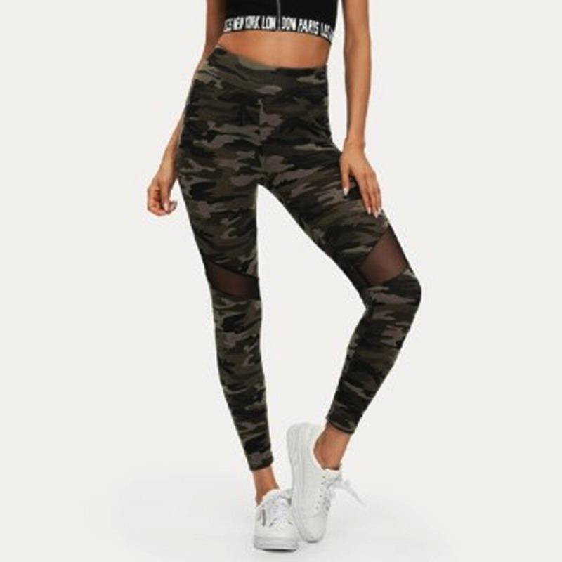 Ladies Cut-out Mesh Leggings | Beauty and Trends