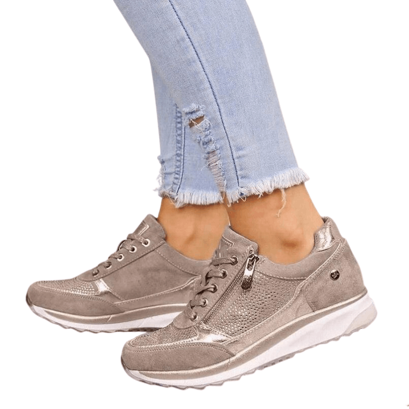 Ladies Platform Sneakers