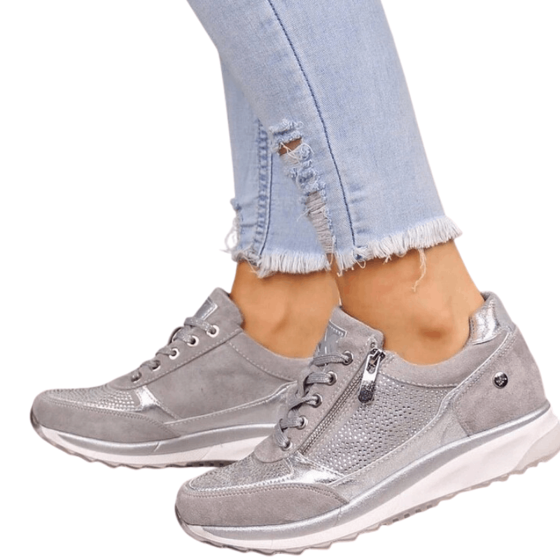 Ladies Platform Sneakers - Beauty and Trends