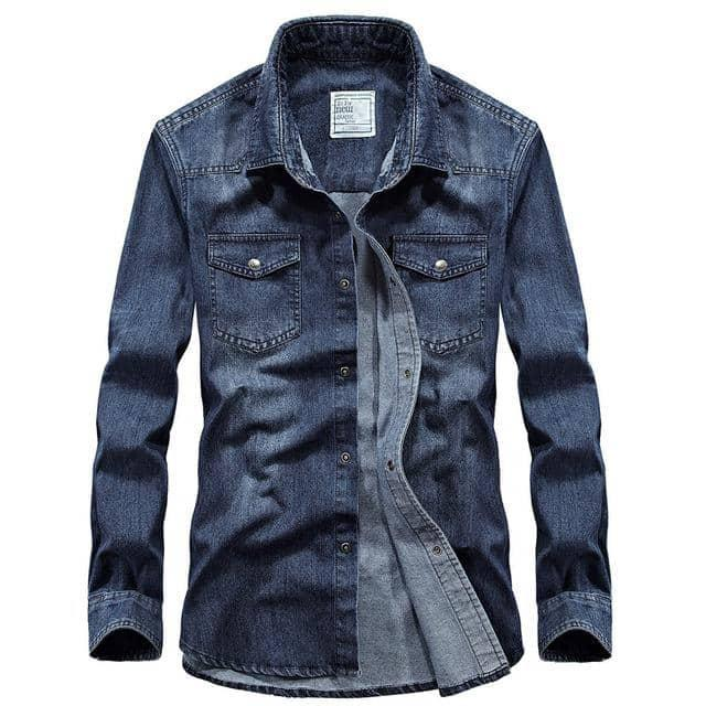 Men's Casual Denim Jacket - Beauty and Trends