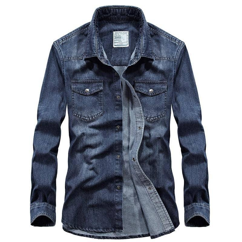 Men's Casual Denim Jacket | Beauty and Trends