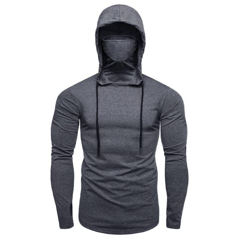 Men's Mask Hooded Sweater | Beauty and Trends