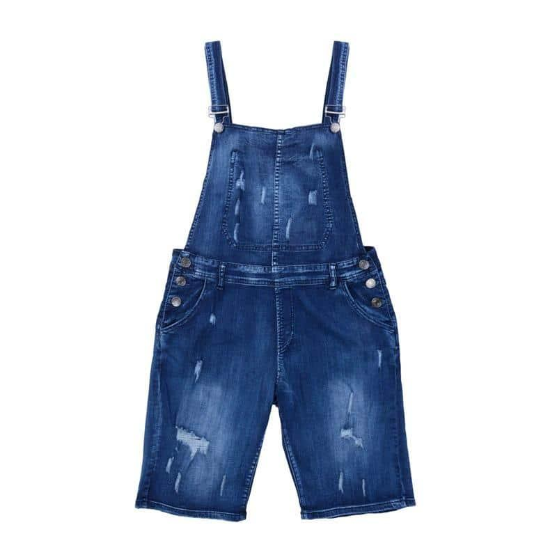 2020 Men's Ripped Jeans Jumpsuit - Beauty and Trends
