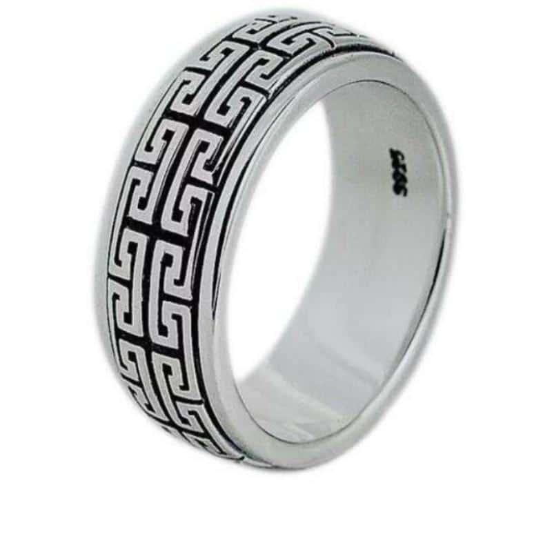 Men's Sterling Silver Ring | Men's silver Ring