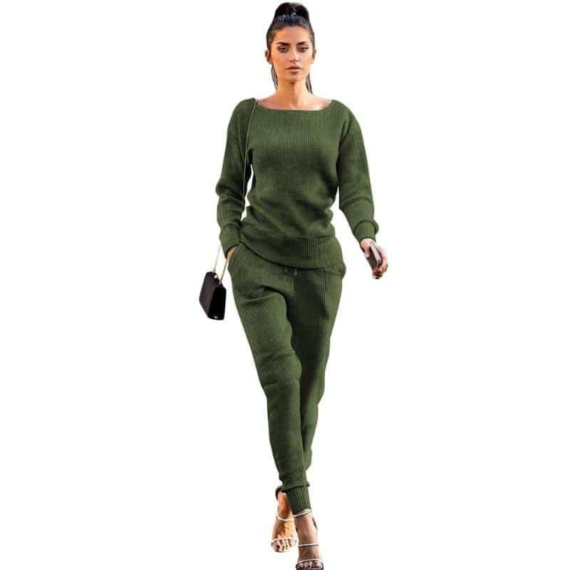 Women 2 Piece Casual Pants Suit | Beauty and Trends