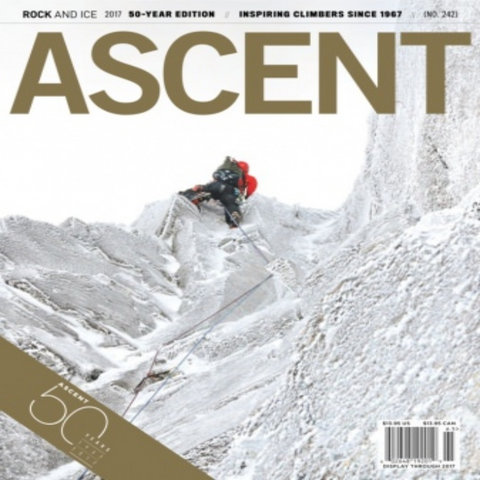 Rock and Ice - Ascent #242