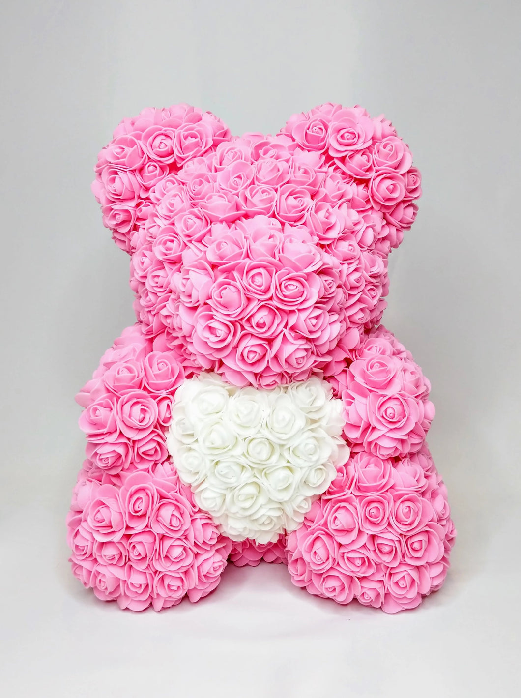 Limited Edition Heart Rose Bear