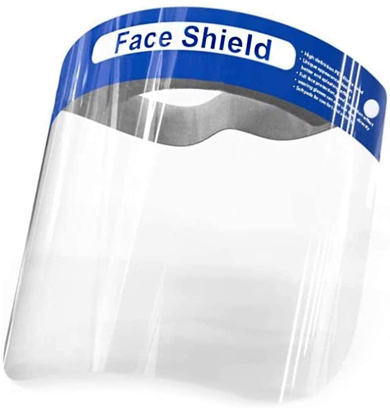 shopify-Reusable Safety Face Shield - Transarent Protective Shield-1