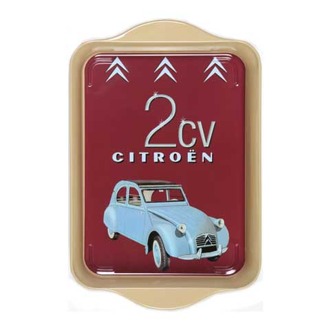 Citroen 2 CV Mini Metal Tray