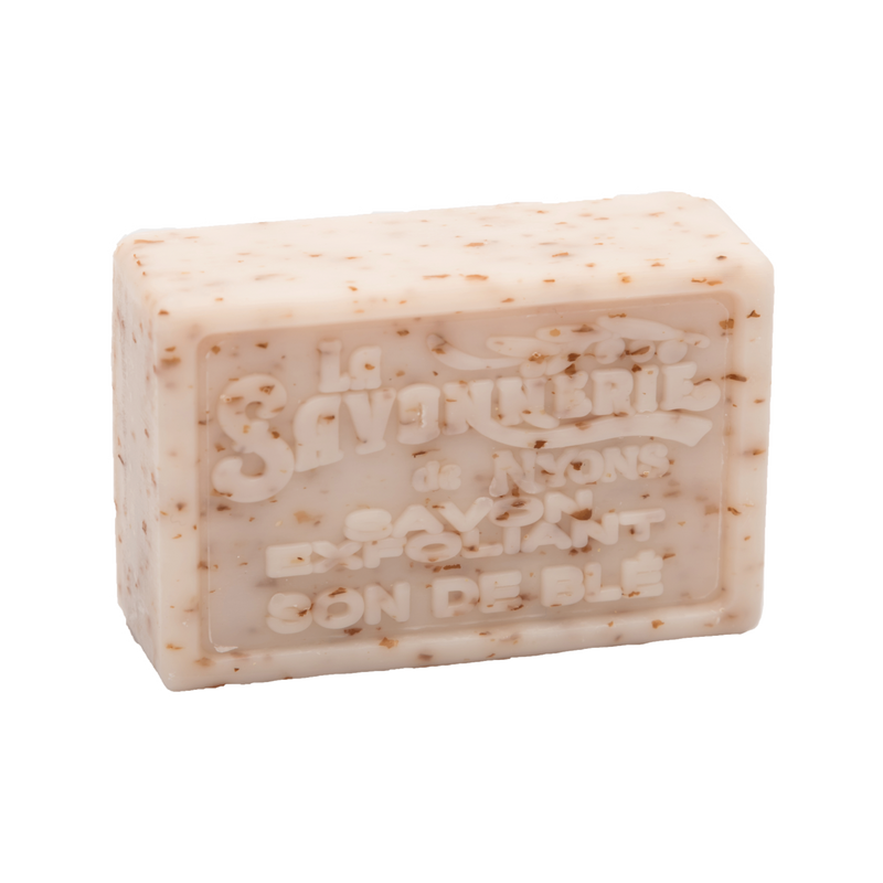 Wheat Bran Scrub Exfoliating Soap 100g (Set of 2)