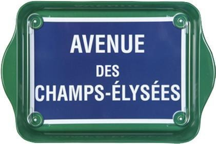 Champs Elysees Mini Metal Tray - Le Marché Pop Up