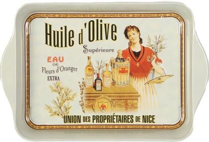 Huile d'Olive Mini Metal Tray - Le Marché Pop Up