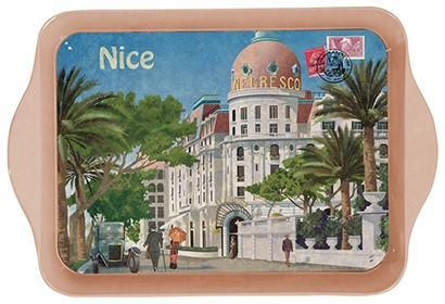 Nice Promenade Mini Metal Tray - Le Marché Pop Up