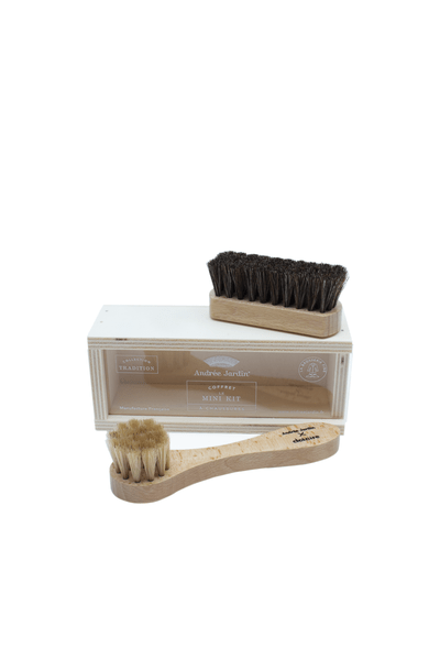 Mini Shoe Care Kit in Gift Box - Le Marché Pop Up