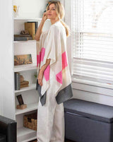 The Thinny Wrap - Pink Stripe - Le Marché Pop Up