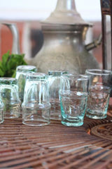Beldi Small Glass Clear (Set of 6)