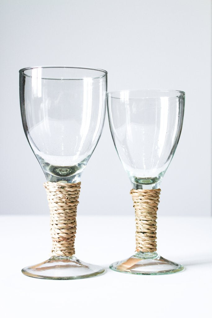 Seagrass Wine Glasses Large (Set of 6)