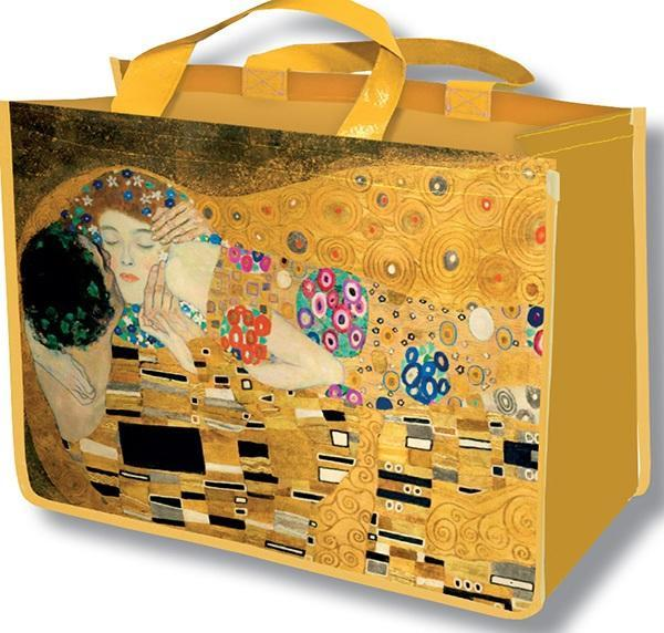 Klimt The Kiss Reusable Bag - Le Marché Pop Up