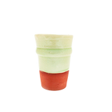 Terracotta Cups Pale Yellow Large (Set of 4)